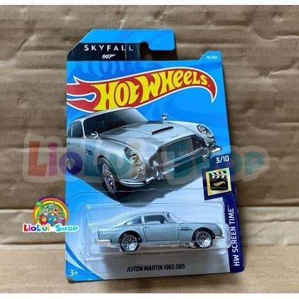 Jual Hot Wheels Aston Martin 1963 Db5 James Bond Skyfall 007 Jakarta Timur Liolui Shop Tokopedia