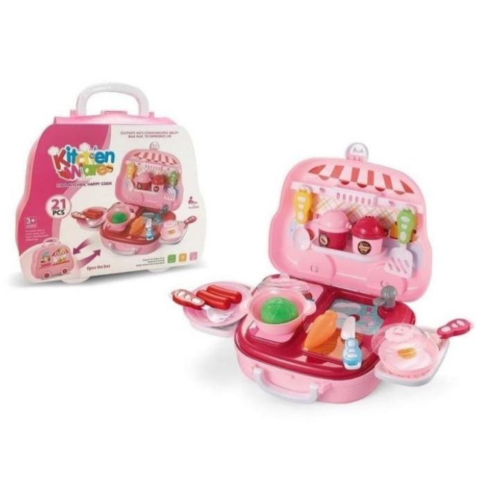 Jual Mainan Anak Kitchen Ware Set Koper Mainan Masak Masakan Anak Kecil Jakarta Utara Fashionweek Shop Tokopedia