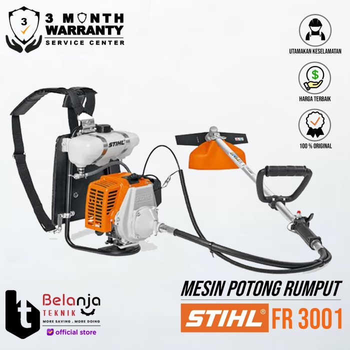 Foto Produk Stihl Mesin Potong Rumput Fr 3001 dari Belanja Teknik