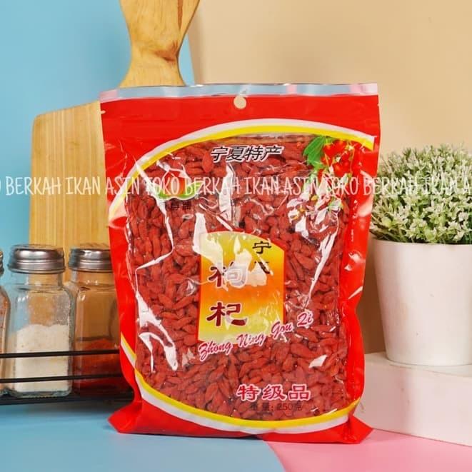 Foto Produk Goji Berry premium quality / keichi / kichi / keici - 250gram dari Toko BERKAH Ikan Asin