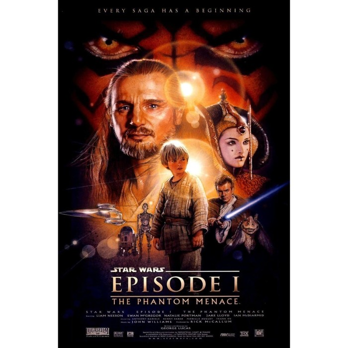 Jual Film Star Wars Episode I The Phantom Menace 1999 Kota Bandung Factory Movie Dvd Tokopedia