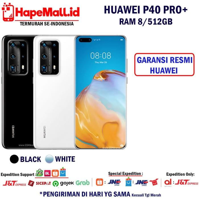 Foto Produk HUAWEI P40 PRO PLUS GARANSI RESMI HUAWEI INDONESIA TERMURAH - Putih dari Hapemall.id