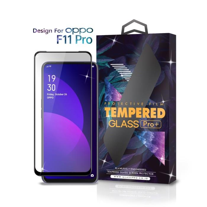 Foto Produk Tempered Glass Oppo F11 Pro Full Cover Black - Premium Glass Pro dari Glass Pro Indonesia