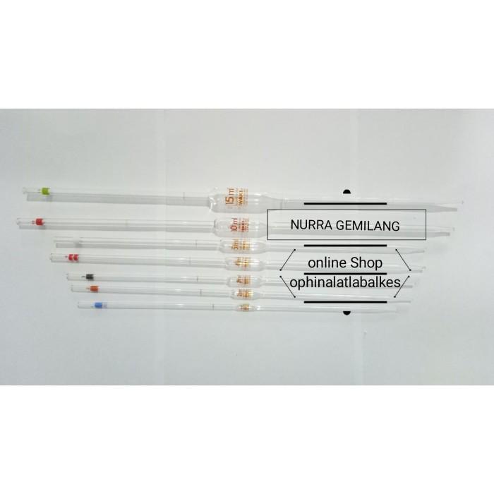 jual pipet volume iwaki 0 5 ml volumetric pipet 0 5ml kota malang ophin alat lab alkes tokopedia