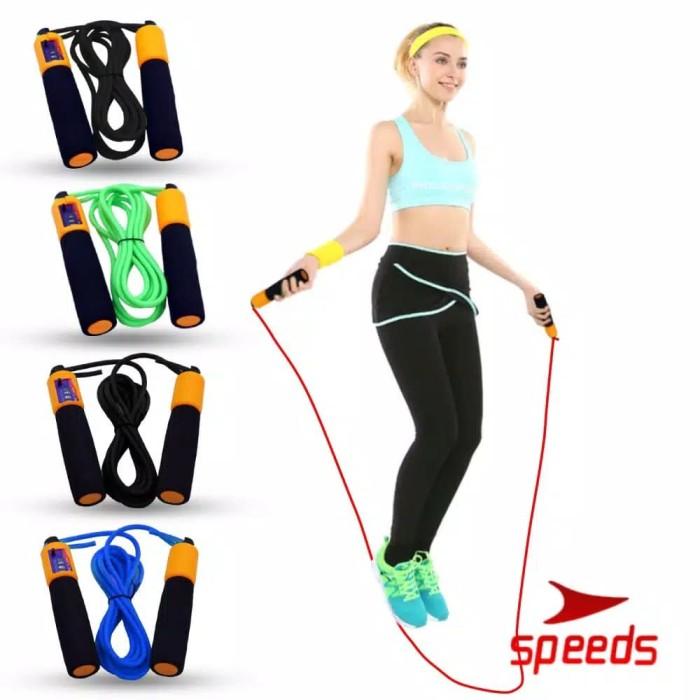 Foto Produk Skipping Skiping Lompat Tali Loncat Jump Rope Alat Olahraga Anak Remaj dari LELUTO SPORT