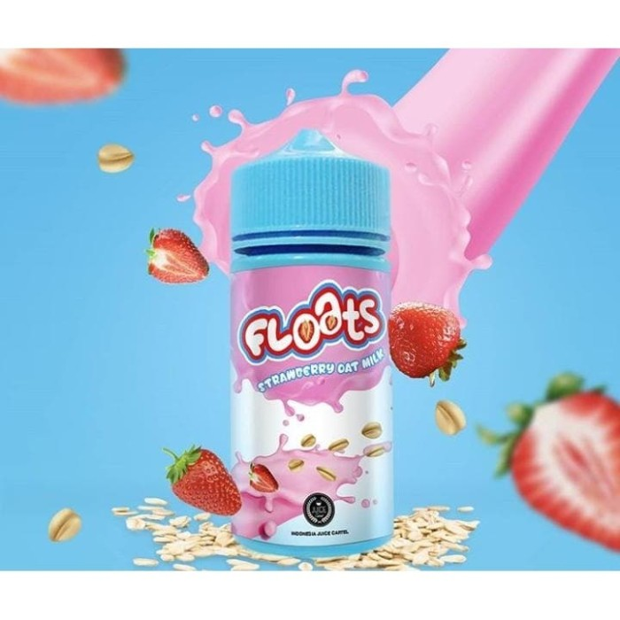 Foto Produk Floats - Strawberry Oat Milk 100ml Premium Liquid Vape dari VapeOi
