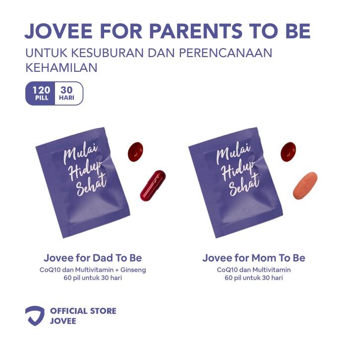 Foto Produk Jovee For Parents To Be - Untuk Kesuburan dan Perencanaan Kehamilan dari Jovee