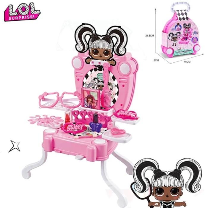Jual Mainan Anak Make Up Dandan Fashion Backpack 2in1 Lol Jakarta Utara Sally S Sport Tokopedia