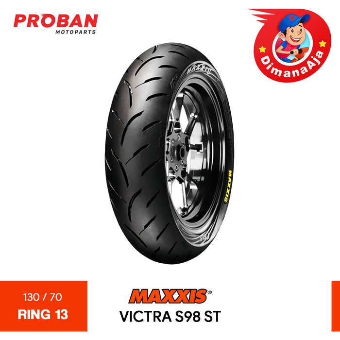 Foto Produk MAXXIS TL VICTRA S98ST 130/70-13 Proban Motoparts dari Proban Motoparts