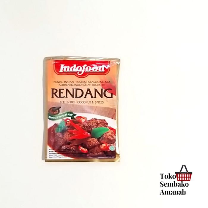Foto Produk Indofood Bumbu Instan Rendang Opor Ayam Rawon Soto Ayam Kare Gulai - Rendang dari Sembako Amanah20
