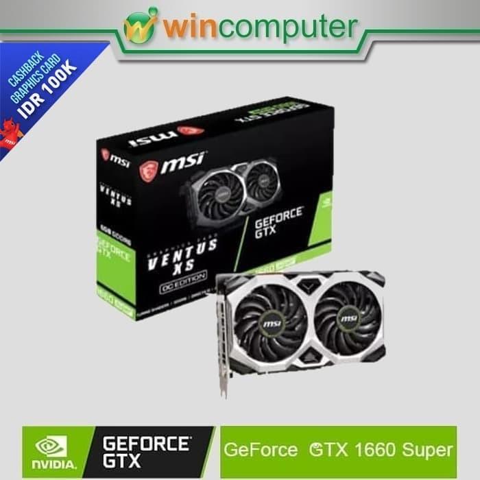 Foto Produk MSI Geforce GTX 1660 Super Ventus XS OC dari Win Computer