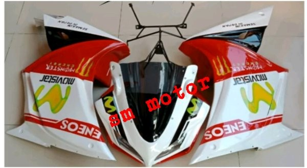 Foto Produk sepaket full fairing depan model R25 for VIXION NEW-VIXION OLD pa dari thomasonlineshop