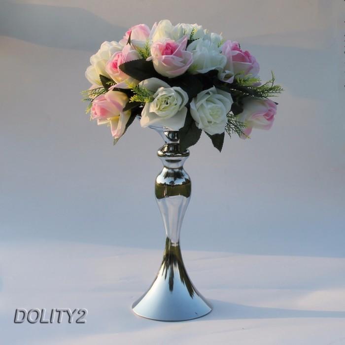Jual Dolity2 Metal Candle Holder Wedding Event Central Road Flower Vase Jakarta Selatan Ezlylia Tokopedia