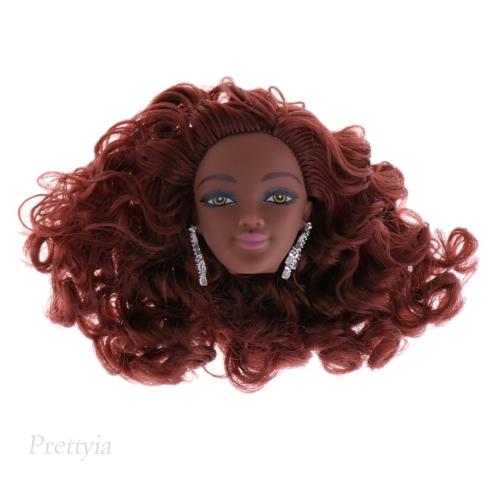 Jual Fashion Brown Curly Hair Styling