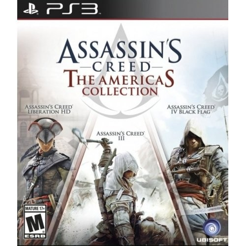 Jual Bd Ps3 Assassins Creed The Americas Collection New Sealed