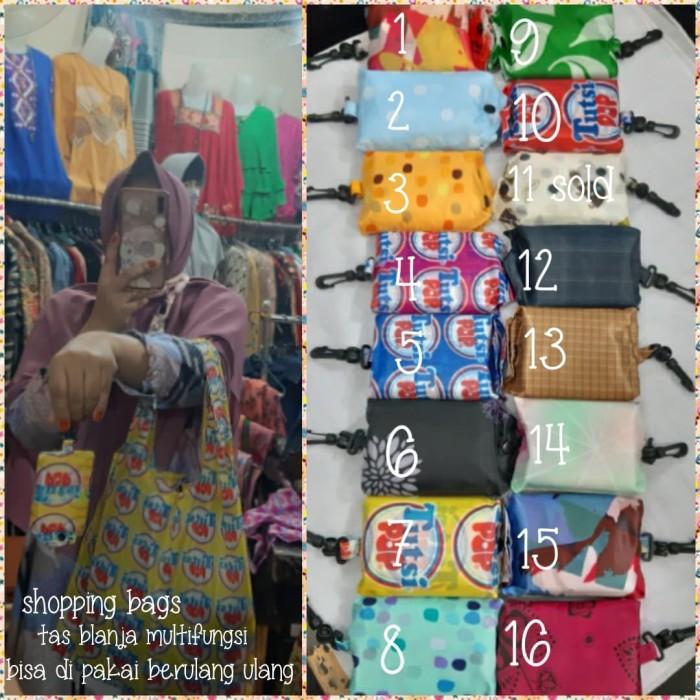 Foto Produk Tas belanja/shopping bags/kantong belanja lipat/eco friendly bags dari Winnie Collection