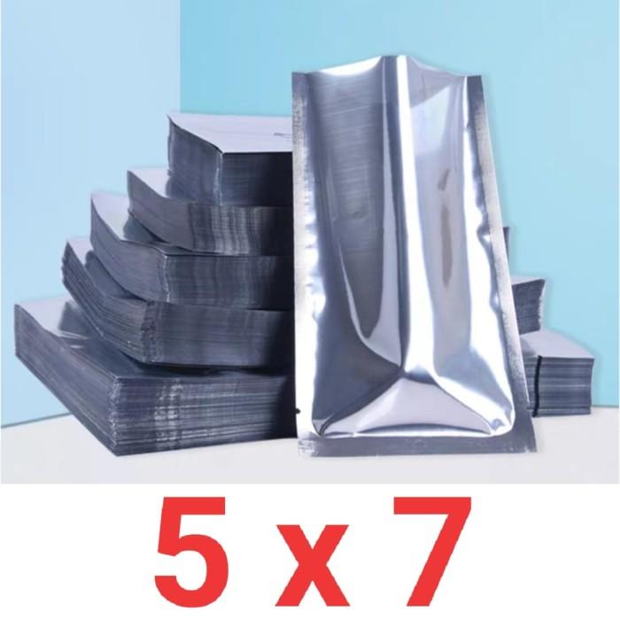 Foto Produk Sachet kemasan aluminium foil untuk packing biji benih ukuran 5x7 cm dari Biji Benih