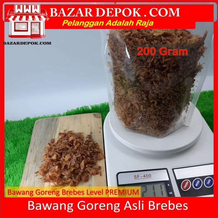 Foto Produk Bawang Goreng 200 Gr Brebes PREMIUM dari Bazar Depok