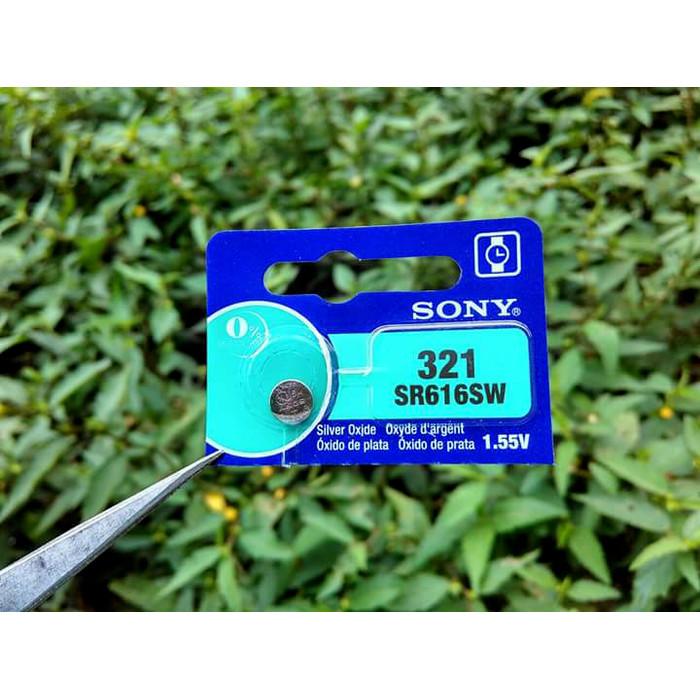 Foto Produk Baterai Sony 321 SR616 315 716 SR716SW SR716 317 516 SR516SW Original - 321 dari grojam