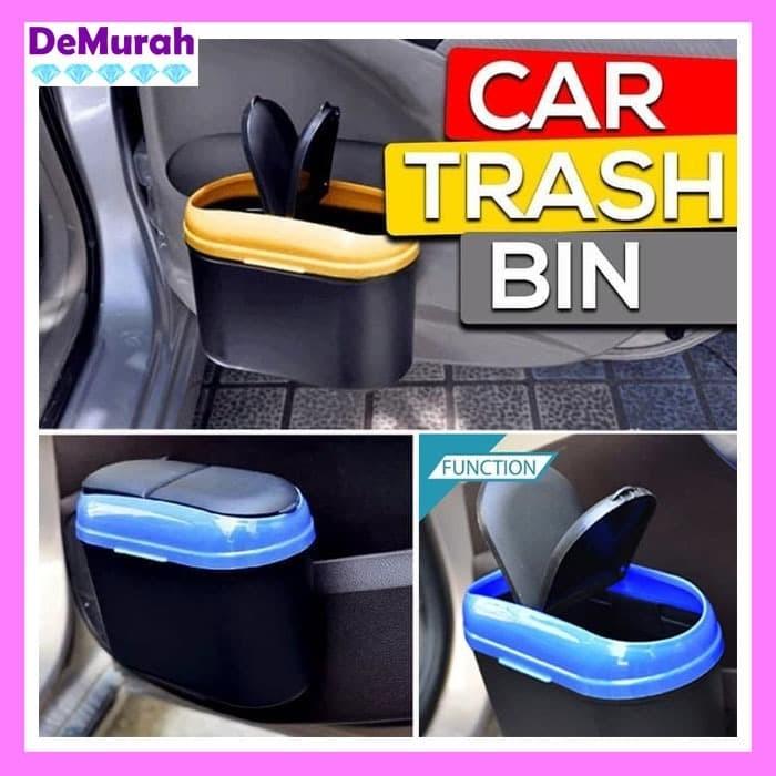 Foto Produk 0414 Car Trash Bin Tempat Sampah Mobil - Kuning dari Demurah Dot Com