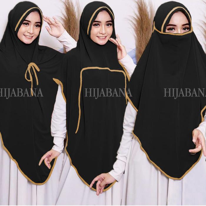 Jual Khimar Instan Canda Bergo Xl Jumbo Hijab Instan Jersey Jilbab Instan Hitam Kota Surabaya Kepikepi Tokopedia