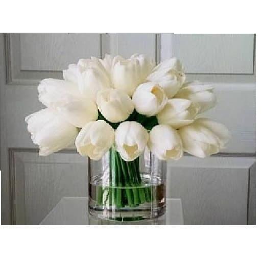 Jual X B451 Bunga Tulip Besar Bouquet Artificial Buket 6 Tangkai Jakarta Barat Gifactory Id Tokopedia