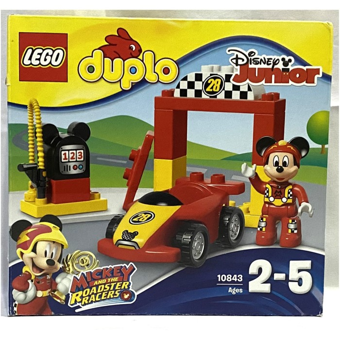 Jual Lego Duplo 10843 Disney Junior Mickey Racer Ex Display Jakarta Utara Reytoys Tokopedia