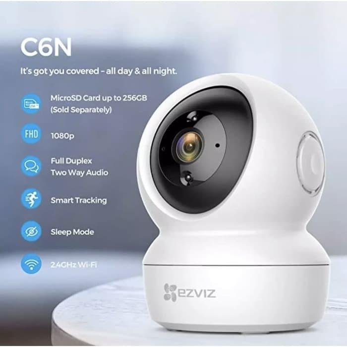 Foto Produk EZVIZ C6CN HD 1080p IPCAM Smart 360 panoramic with RJ45 CCTV IP Camera dari Uniq Computer