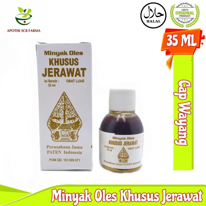 Minyak Oles Khusus Jerawat Cap Wayang Original Bpom