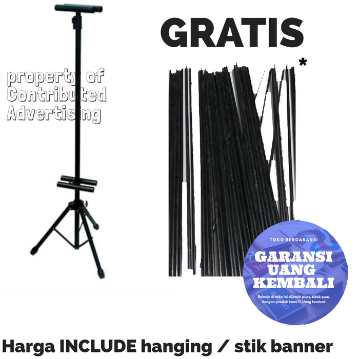 Jual Standing Banner Promosi Banner Promosi Tripod Banner Kota Tangerang Selatan Marcus Sepatu Grosir Tokopedia