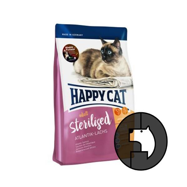 Foto Produk happy cat 10 kg adult sterilised atlantic salmon dari F.J. Pet Shop