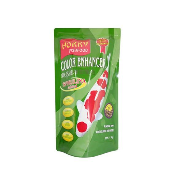 Foto Produk hokky 1 kg fish food spirulina size medium dari F.J. Pet Shop