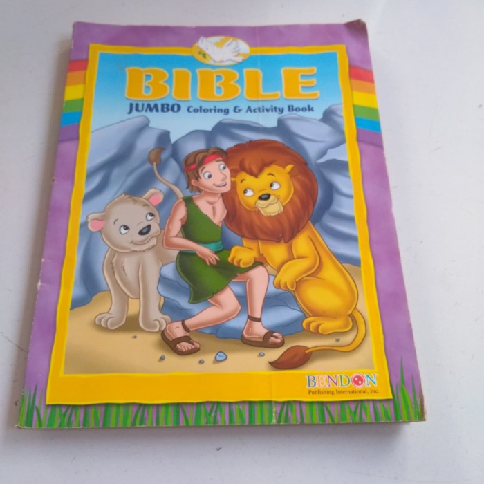 Jual Majalah Anak Bible Jumbo Coloring And Activity Book 2 Bahasa Inggris Kab Kudus E Book E Tokopedia
