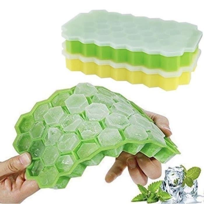Foto Produk Cetakan Silikon Es Batu Cetakan MPASI Sarang Lebah Honeycombs dari evencio shop