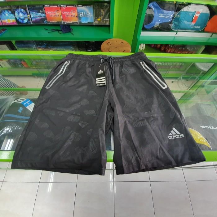 Jual Celana Pendek Olah Raga Logo Adidas Grade Ori Hitam
