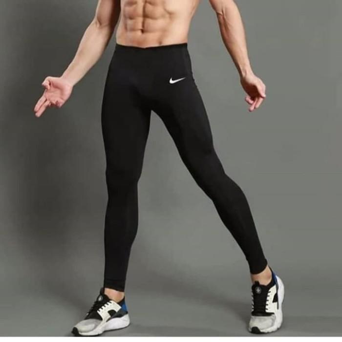 Jual Celana Legging Pria Nike Sport Gym Fitnes Hitam Logo Nike Standar 28 32 Jakarta Utara Fashion Pria 66 Tokopedia