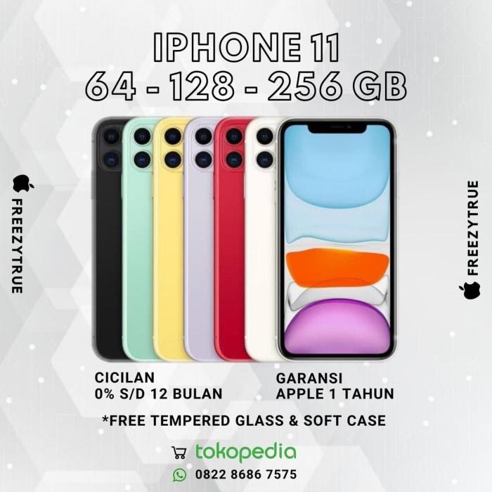 Foto Produk (READY) Iphone 11 256 GB - White / Black / Red (BNIB) - Hitam dari FreezyTrue