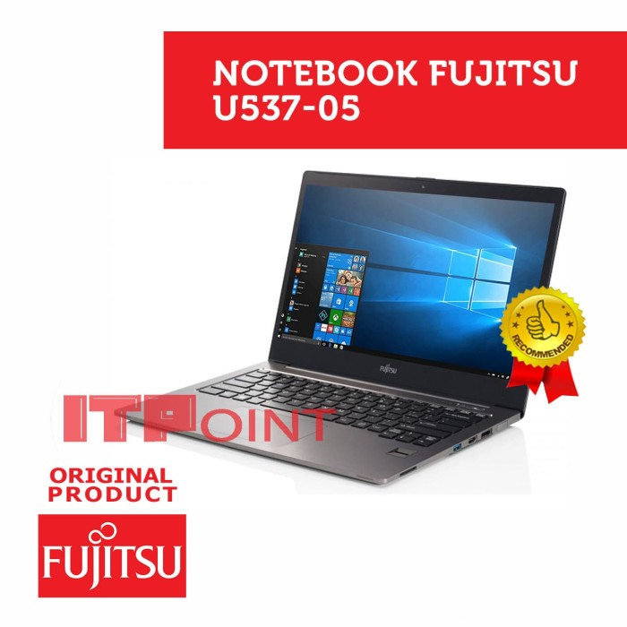 Jual Notebook Fujitsu Lifebook U537 05 Fa1a0030 Kota Surabaya It Point Hitech Mall Tokopedia