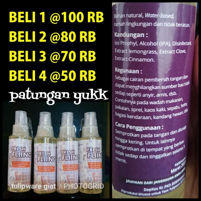 Foto Produk Fresh Fliing ANTI BAU Twin Tulipware dari TULIPWARE collection