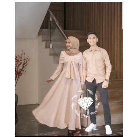 Jual Baju Gamis Remaja Syar I Couple Suami Istri Keluarga Lebaran Terbaru Jakarta Pusat Modelburlebur Tokopedia