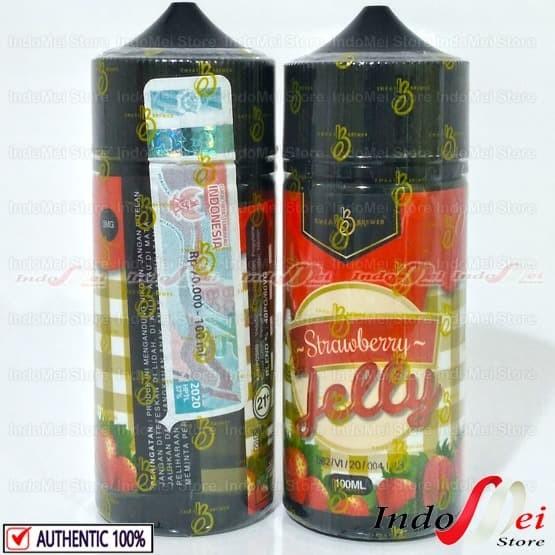 Foto Produk Liquid Jelly Strawberry 100ml by EMKAY - RANDOM dari Indomei Store