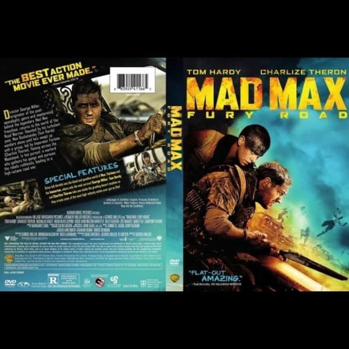 Jual Dvd Film Action Mad Max Fury Road 2015 Jakarta Barat Passtilaku Store Tokopedia