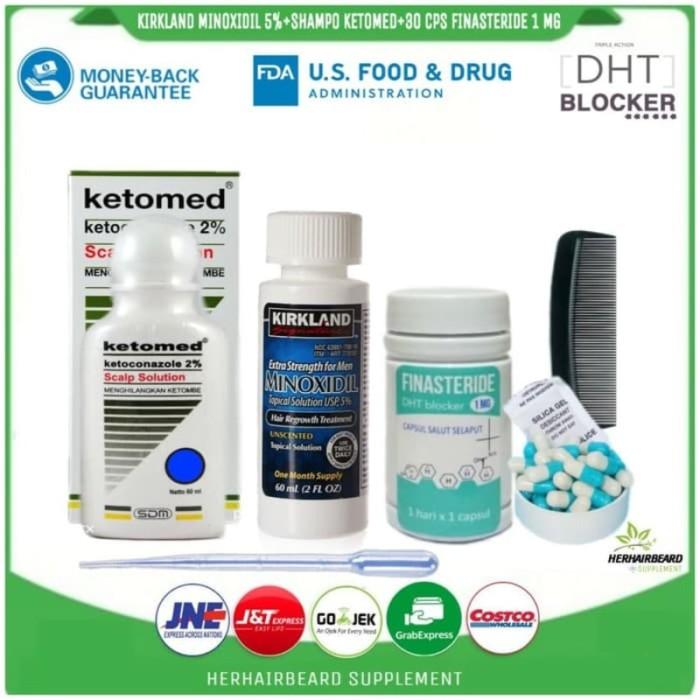 Jual Dijual Paket Kebotakan Pria Dht Blocker Finasteride 1 Mg Jakarta Selatan Yohanes Health Care Tokopedia