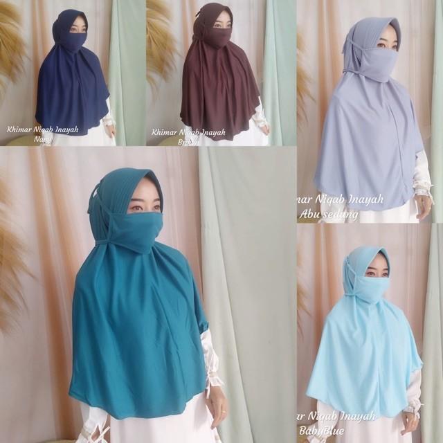 Jual Khimar Niqab Kota Surabaya Sh3lb0x Tokopedia