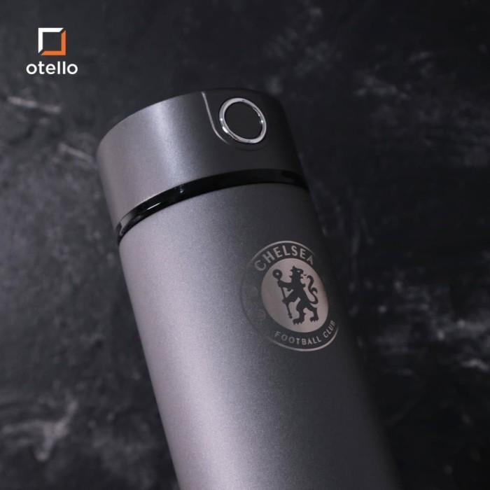 Foto Produk Klub Bola   Dakota Vacuum Flask Tumbler   Termos Stainless Steel - M United, Hitam dari Otello Laser Cut