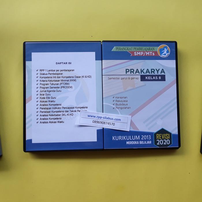 Jual Rpp Prakarya Kelas 8 Kurikulum 2013 Revisi 2020 Format Satu Lembar Kab Bogor Rpp Silabus Com Tokopedia