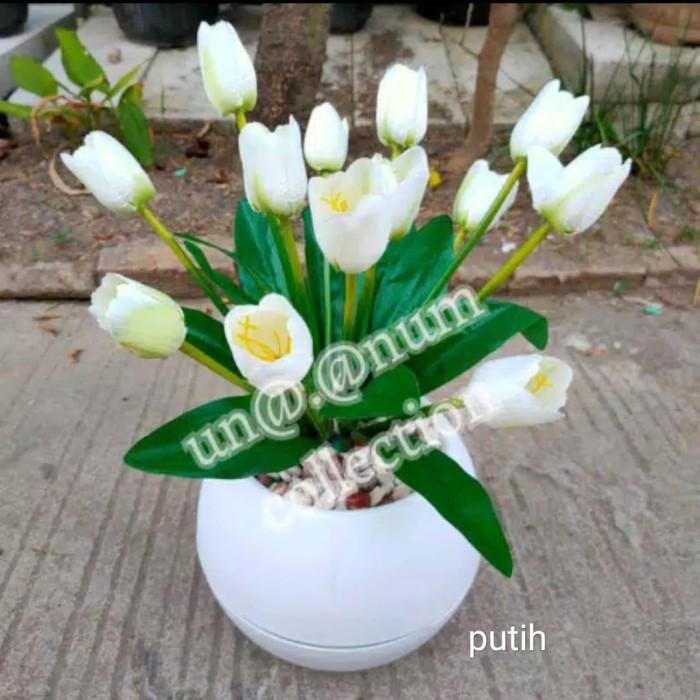 Jual Rangkaian Bunga Tulip Set Pot Tulip Warna Warni Bunga Meja Artificial Jakarta Timur Halimah Grosir Bandung Tokopedia