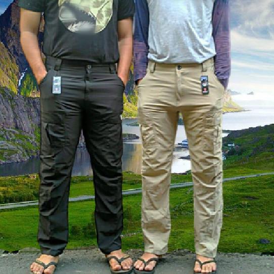 Foto Produk Celana Panjang Adventure & Go-fishing - Hitam dari Lapak_KQ5 Jakarta