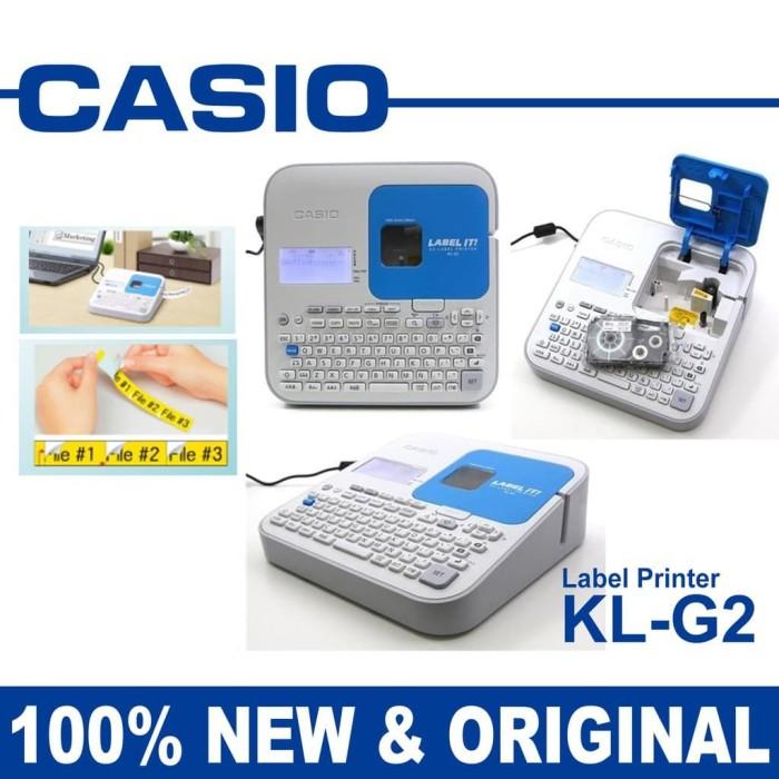 Foto Produk CASIO LABEL PRINTER PC CONNECTABLE - LABEL MAKER CASIO KL G2 dari EtalaseBelanja
