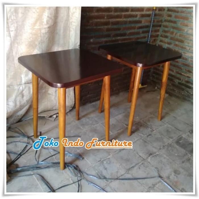 Jual Meja Kursi Cafe Kayu Jati Minimalis Terbaru Harga Murah Kab Jepara Toko Indo Furniture Tokopedia